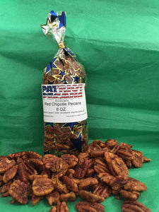 Red Chipotle Pecans