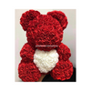 40cm Luxury Rose Bear With Heart Limited Edition