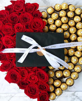 Ferrero Rocher Rose HEART