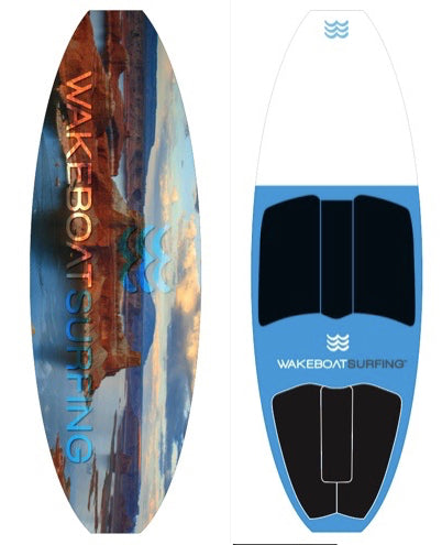 WakeBoatSurfing Signature Edition Lake Powell LED Board!