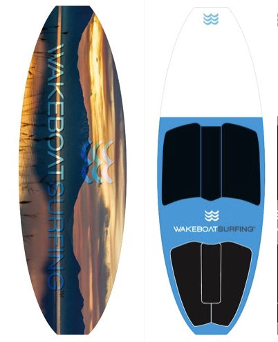 WakeBoatSurfing Signature Edition Panoramic LED Board!