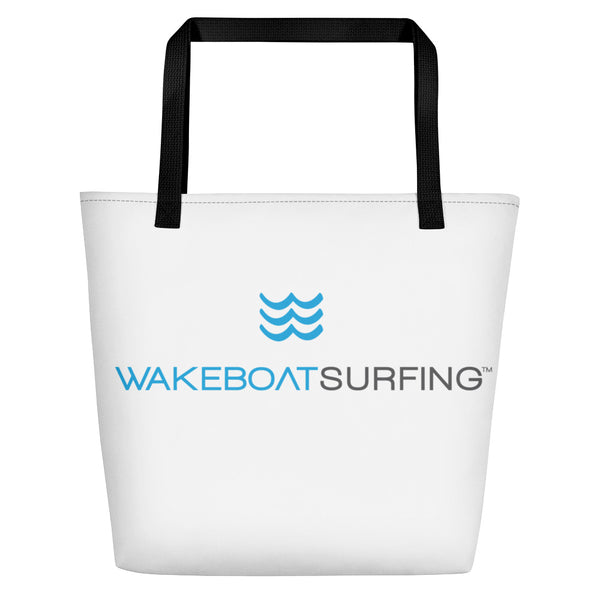 "WakeBoatSurfing Beach Bag, 15""x20"""