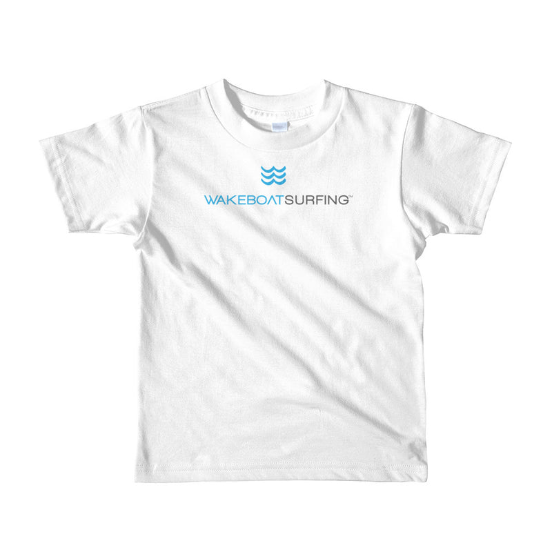 "WakeBoatSurfing ""KIDS"" Short Sleeve T-shirt"