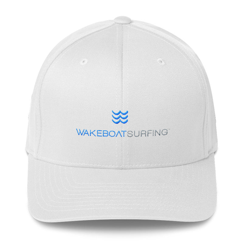 WakeBoatSurfing Structured Twill Cap
