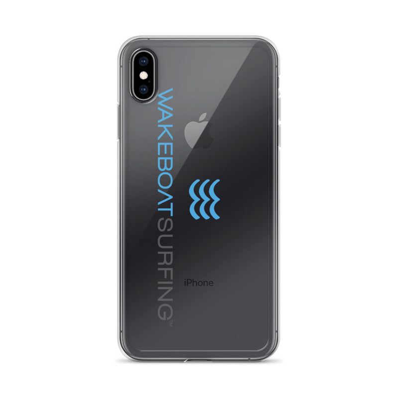 WakeBoatSurfing iPhone Case