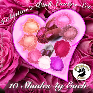 PINK LOVERS 10 Shade Set :: Limited Edition