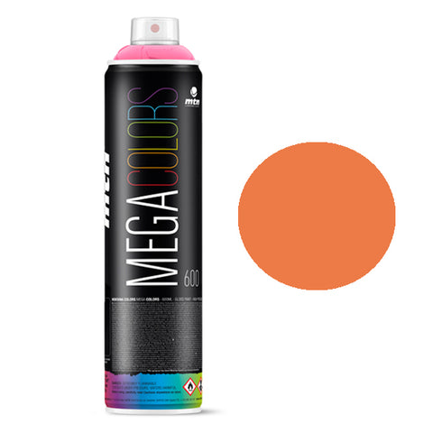 MTN Mega 600ml - Pastel Orange RV-2003 - AllCity NZ - Spray Paint NZ