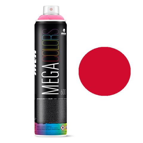 MTN Mega 600ml - Light Red RV-3020 - AllCity NZ - Spray Paint NZ