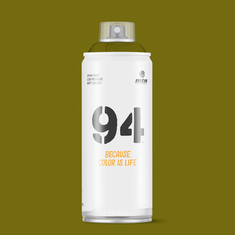 MTN 94 400ml - Mission Green RV-112 - AllCity NZ - Spray Paint NZ