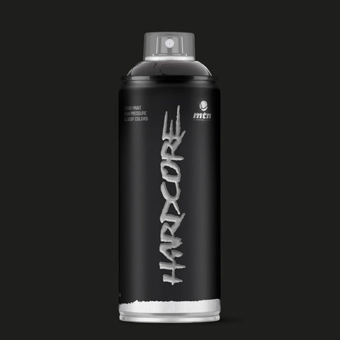 MTN Hardcore 400ml - Black R-9011 - AllCity NZ - Spray Paint NZ