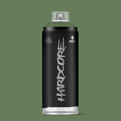 MTN Hardcore 400ml - Khaki Green R-6013 - AllCity NZ - Spray Paint NZ