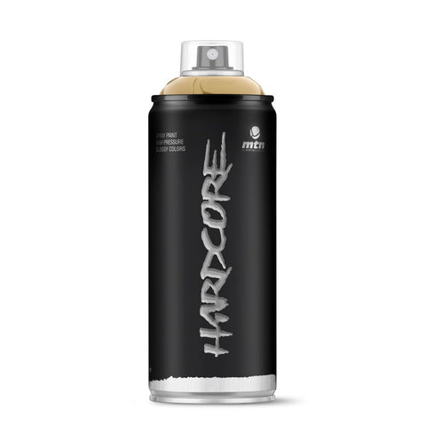 MTN Hardcore 400ml - Gold - AllCity NZ - Spray Paint NZ