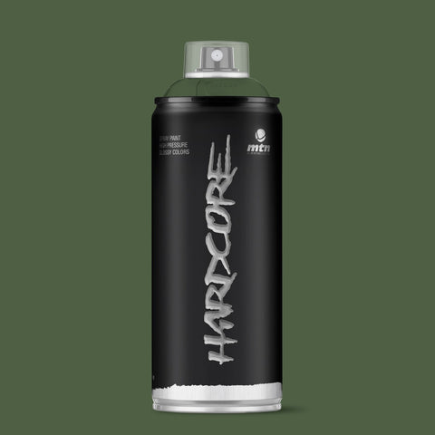 MTN Hardcore 400ml - Olive Green R-6003 - AllCity NZ - Spray Paint NZ