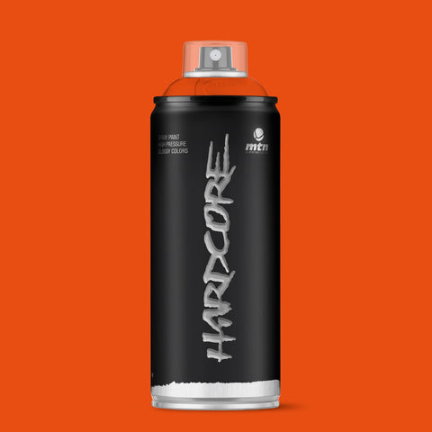 MTN Hardcore 400ml - Orange R-2004 - AllCity NZ - Spray Paint NZ