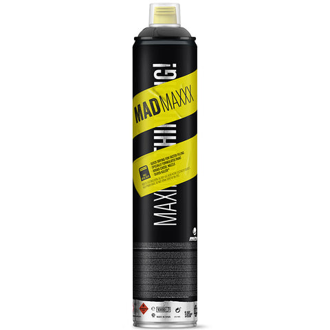 MTN Mad Maxxx 750ml Black - AllCity NZ - Spray Paint NZ