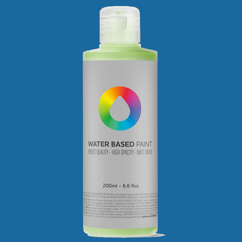 MTN Water Based Paint Prussian Blue 200ml - AllCity NZ