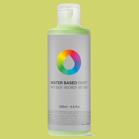 MTN Water Based Brilliant Yellow Green 200ml - AllCity NZ - Spray Paint NZ