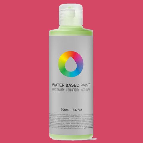MTN Water Based Paint Quinacridone Magenta 200ml - AllCity NZ - Spray Paint NZ