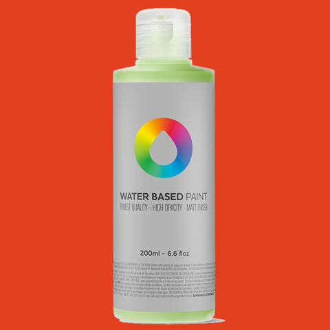 MTN Water Based Paint Naphtol Red 200ml - AllCity NZ