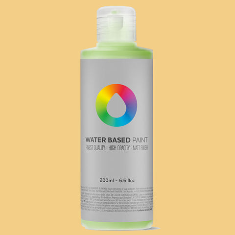 MTN Water Based Paint Naples Yellow 200ml - AllCity NZ