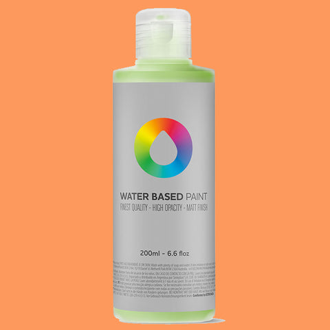 MTN Water Based Paint Azo Orange Light 200ml - AllCity NZ