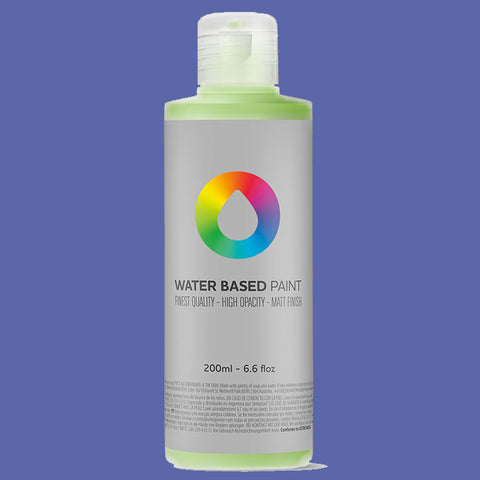 MTN Water Based Paint Dioxazine Purple 200ml - AllCity NZ