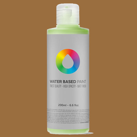 MTN Water Based Paint Raw Sienna 200ml - AllCity NZ