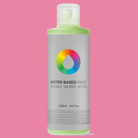 MTN Water Based Paint Quinacridone Rose 200ml - AllCity NZ