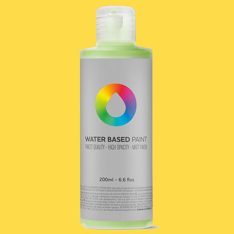 MTN Water Based Paint Cadmium Yellow Medium 200ml - AllCity NZ - Spray Paint NZ