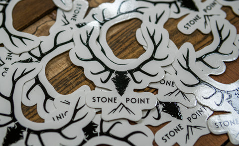 Stone Point Stickers