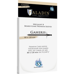 Paladin Card Sleeves - Gaheris Premium (80x120mm)