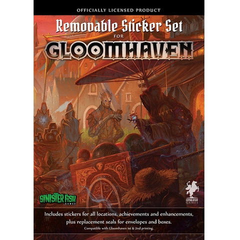 Gloomhaven - Removable Sticker Set