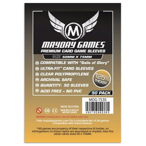 Mayday Card Sleeves - Custom Premium (50x75mm)