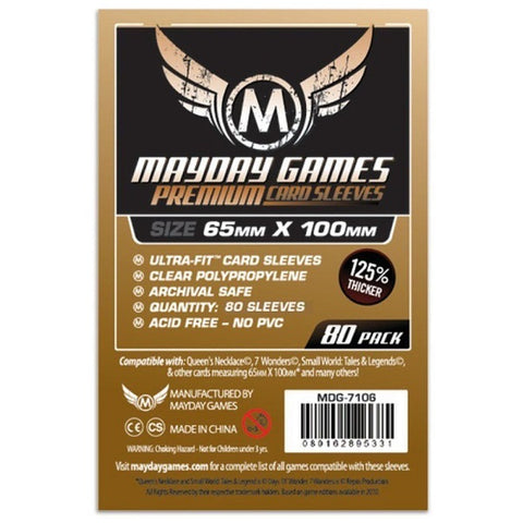Mayday Card Sleeves - Magnum Premium (65x100mm)