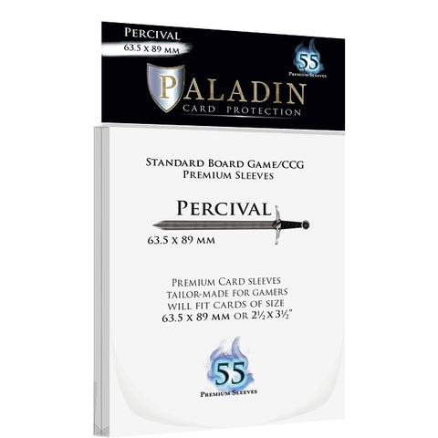 Paladin Card Sleeves - Percival Premium (63.5x89mm)