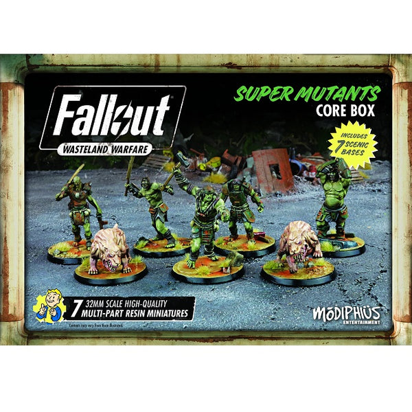 Fallout: Wasteland Warfare - Super Mutant Core Box