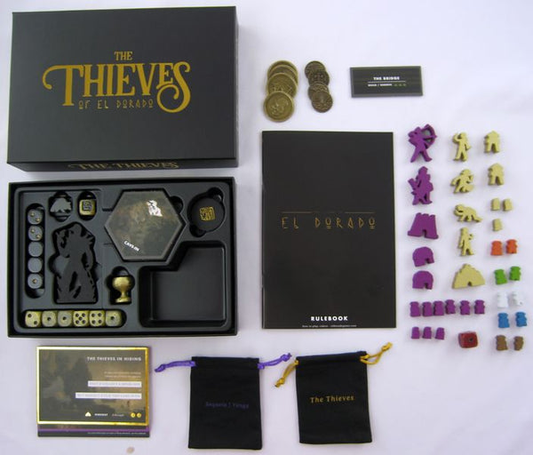 The Island of El Dorado & Thieves Expansion - Kickstarter Edition