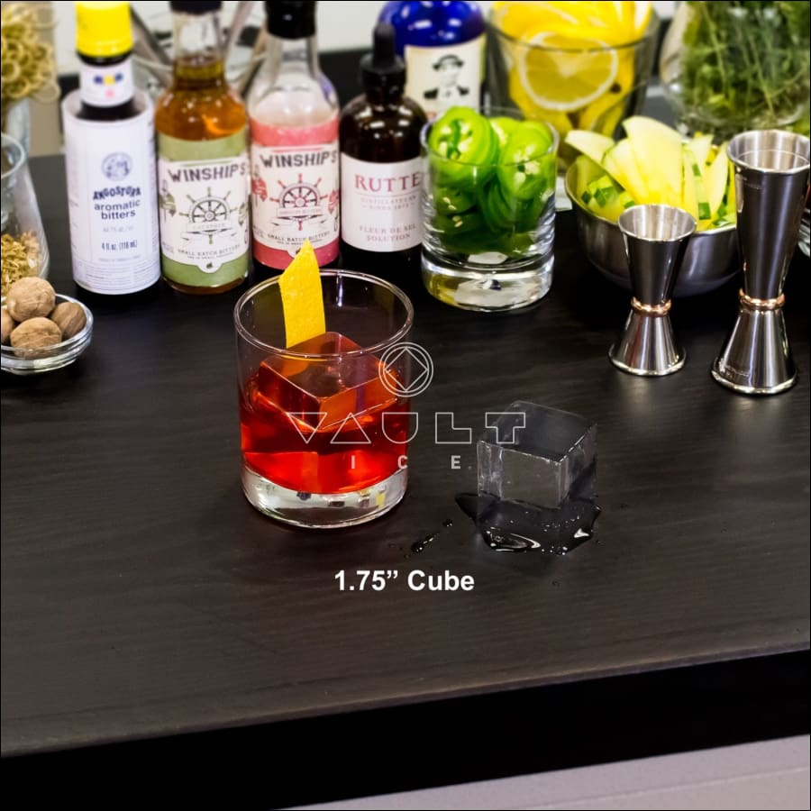 Craft Cocktail Rocks® 1.75 Cube Ice