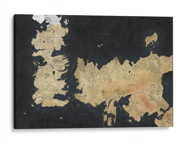 "Mapa ""Game of Thrones"""