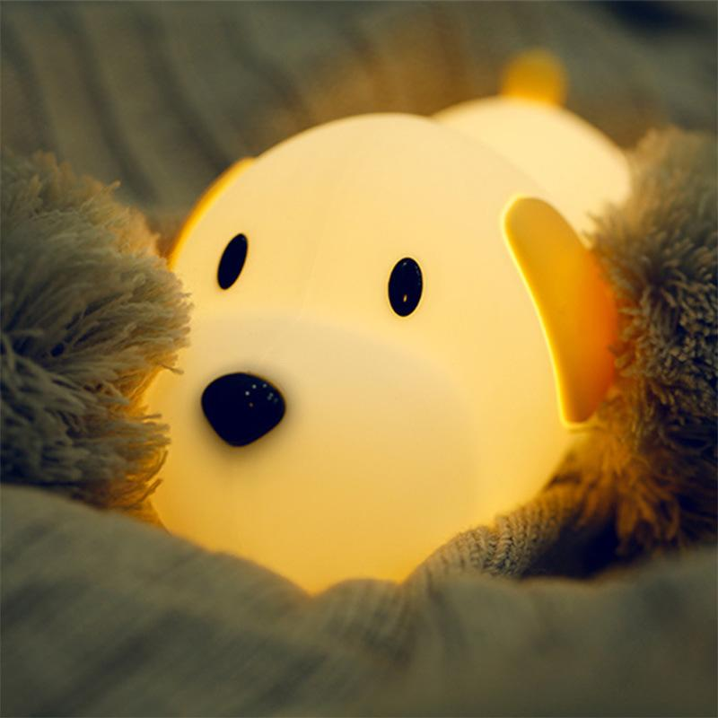 Puppy silicon lamp