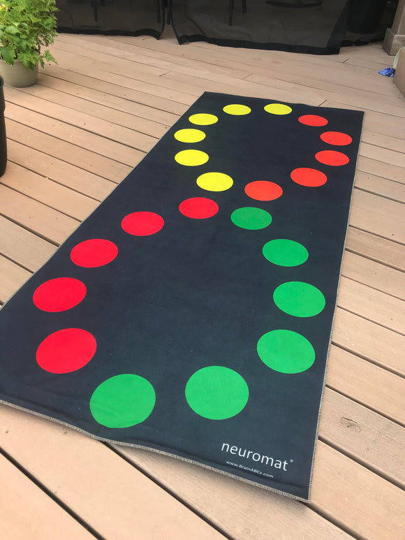 The neuromat®- revolutionary educational therapeutic sensory exercise mat.