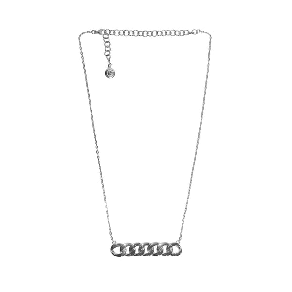 Holly-Necklace-18K-Plated-White-Gold-Lisa-Corbo-Design