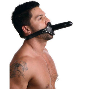 The Ride Me Double Dildo Mouth Gag
