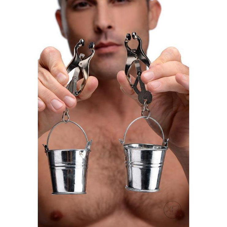 Juggs Nipple Clamps with Buckets