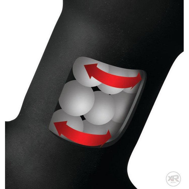 Rimsation 7x Silicone Prostate Vibe with Rotating Beads