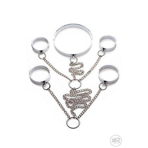 5 Piece Stainless Steel Shackle Set