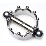 Crowned Magnetic Nipple Clamps
