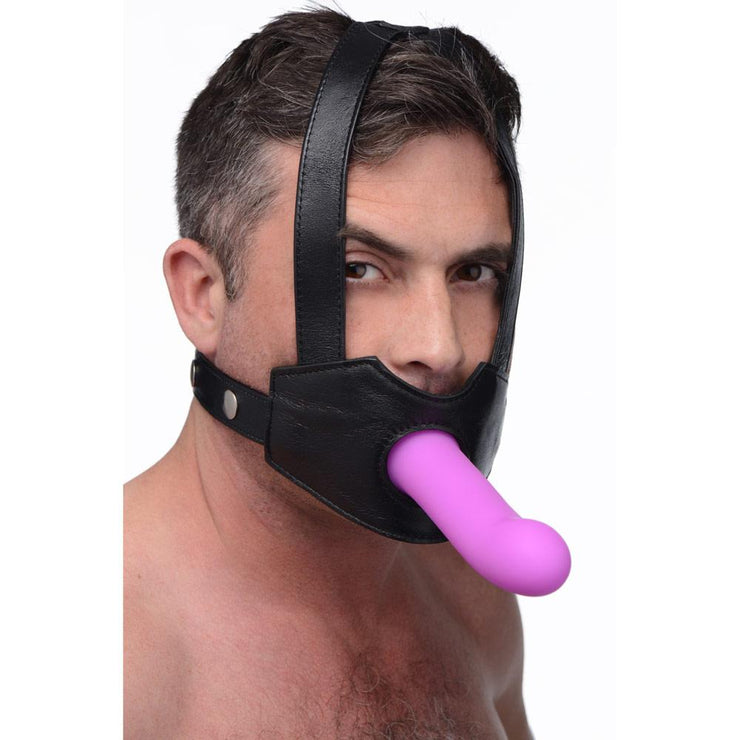 Strap-On Dildo Head Harness