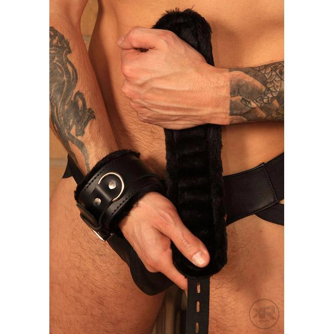 Strict Leather Premium Fur Lined Locking Cuffs