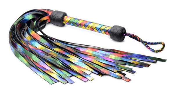 Strict Leather Rainbow Flogger